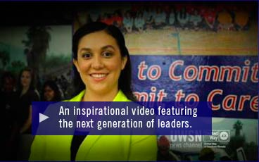 An inspirational video featuring the next generation of leaders